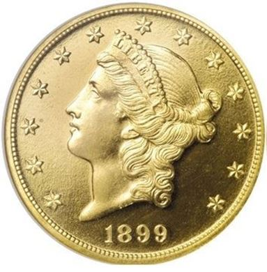 Picture of $20 Liberty Double Eagle