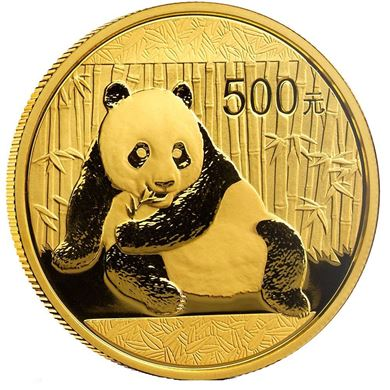Picture of Gold Chinese Panda 1 oz