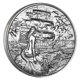 Picture of Siren 2 oz Silver Round