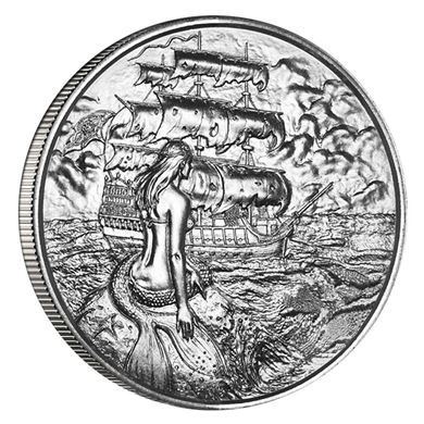 Picture of Siren 2 oz Silver Round