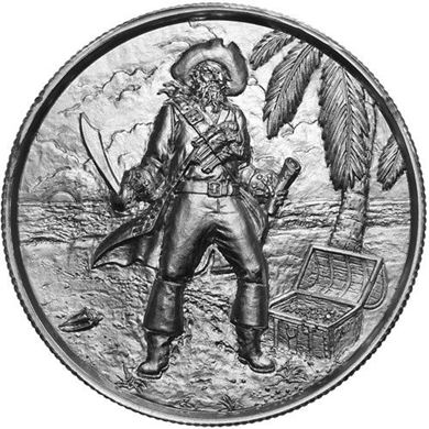 Picture of Captain 2 oz Silver Round