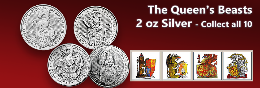 The Queens Beasts Coins