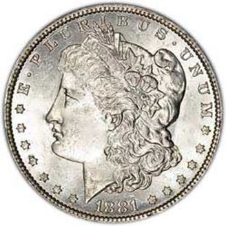 Picture of Pre-1921 Silver Dollar XF-AU