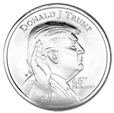 Picture for category Donald Trump Silver Coins