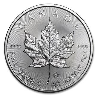 Picture of 2020 Silver Maple Leaf 1 oz