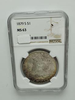 Picture of Pre-1921 Silver Dollar, Common Dates
