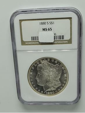 Picture of Pre-1921 Silver Dollar, Common Dates