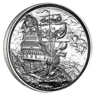 Picture of Privateer 2 oz Silver Round