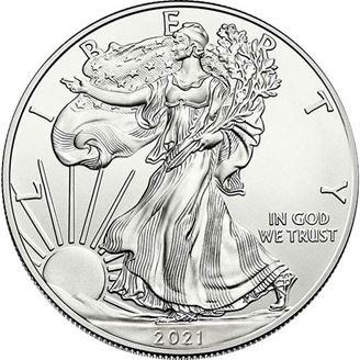 Picture of 2021 Silver American Eagle 1 oz