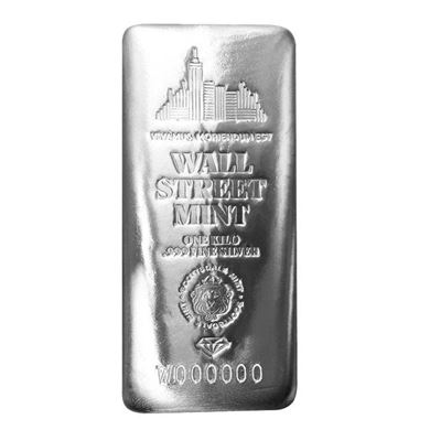 Picture of Wall Street Mint Silver Kilo Bar