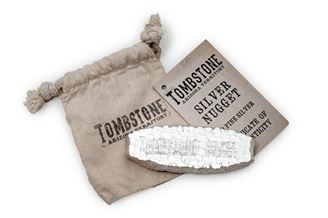 Picture of Tombstone Silver Nugget 10 oz. Bar