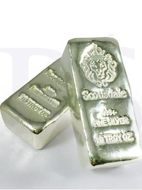 Picture of Scottsdale Mint Silver 10 oz Bar