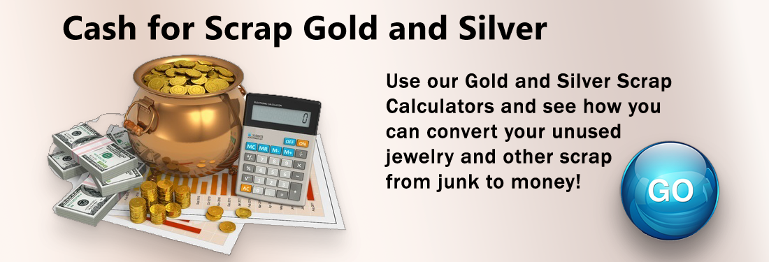 Gold Scrap and Silver Scrap Calculators